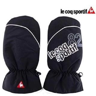 le coq sportif - 【新品未使用】 le coq golf 防寒 両手 ミトン 黒&白