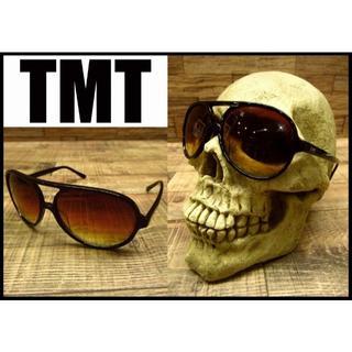 TMT - 美品 TMT ティーエムティー グラデーション レンズ セルフレーム サングラス