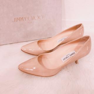 JIMMY CHOO - 美品★ジミーチュウ★ヌードベージュ パンプス