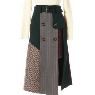 REDYAZEL - REDYAZEL 異素材MIXスカートお譲りします。
