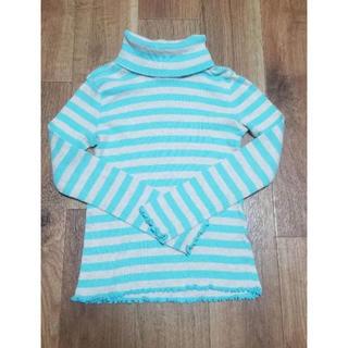 GAP Kids - Gap ギャップキッズ ボーダータートルネックTシャツ 120cm