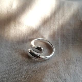 ケービーエフ(KBF)のsilver drop ring *(リング(指輪))