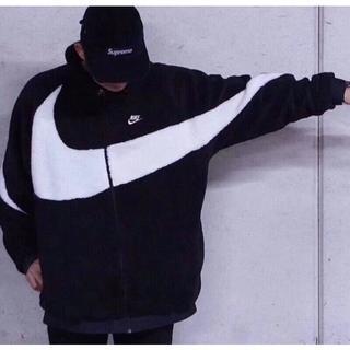 NIKE - Nike ナイキ ボアジャケット ピンク ブルゾン ビックスウォッシュ M