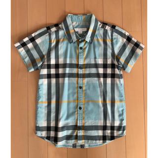 BURBERRY - 【極美品】BURBERRY CHILDREN チェックシャツ
