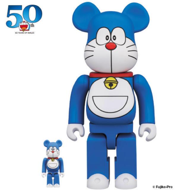 MEDICOM TOY(メディコムトイ)のドラえもん be@RBRICK 100%400% エンタメ/ホビーのフィギュア(アニメ/ゲーム)の商品写真