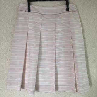 ピンク スカート(ひざ丈スカート)