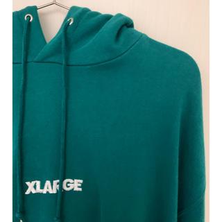 XLARGE - 人気カラー! エクストララージ パーカー 緑
