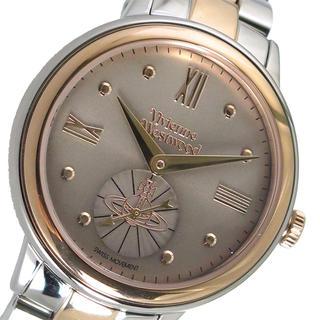 ヴィヴィアンウエストウッド(Vivienne Westwood)のVivienne Westwoodクオーツ レディース腕時計 ブラウン ブラウン(腕時計)