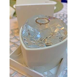 ヨンドシー(4℃)の4℃ヨンドシー ダイヤモンド ピンキーリング(リング(指輪))