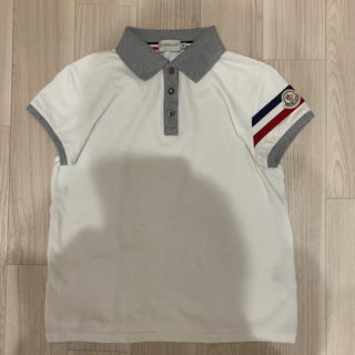 MONCLER - [極美品]モンクレール ポロシャツ トリコロール M