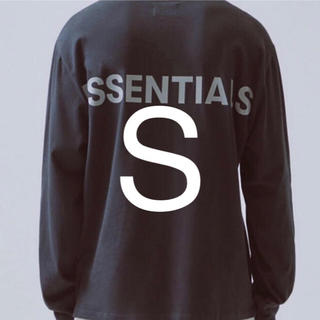FEAR OF GOD - Essentials fog リフレクティブロゴロングスリーブtシャツ