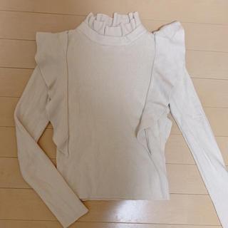 snidel - ♡snidel ♡ 春knit フリルトップス