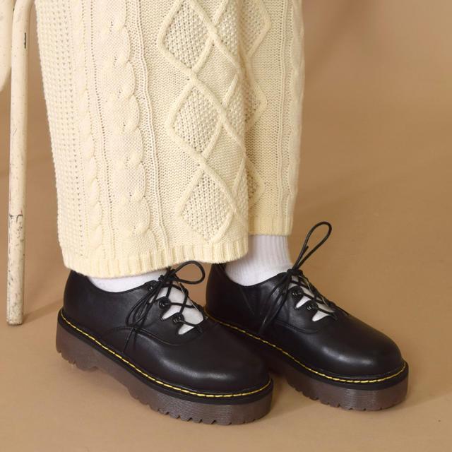 w closet(ダブルクローゼット)のダブルクローゼット ギリーマーチン レディースの靴/シューズ(ローファー/革靴)の商品写真