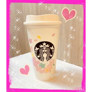Starbucks Coffee - NEW❗️スターバックス☆リユーザブルカップ☆サクラ☆ホワイト