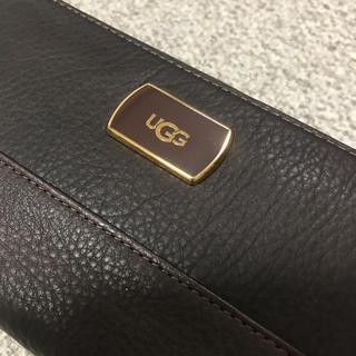 アグ(UGG)の★☆新品 UGG  こげ茶長財布☆★(財布)