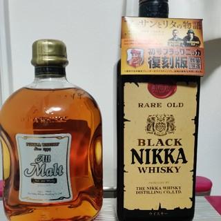 ニッカウイスキー(ニッカウヰスキー)のニッカ オールモルト 初号ブラックニッカ復刻版(ウイスキー)