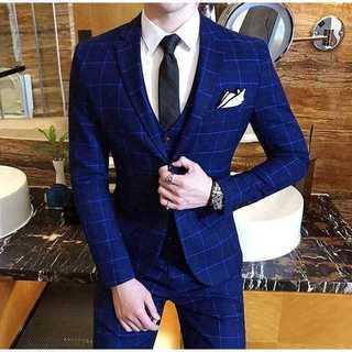 紳士 チェック柄 セットアップ スーツジャケット着痩せ スーツメンズ zb324(セットアップ)