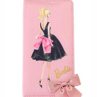 メゾンドフルール(Maison de FLEUR)の【メゾンドフルール】BarbieブラックドレスiPhon7/8ケース(ピンク)(iPhoneケース)