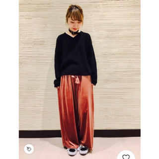 WEGO - ViVi♡八木アリサ♡コスパ最高!プチプラでお洒落コーデ♡【ベロアワイドパンツ】