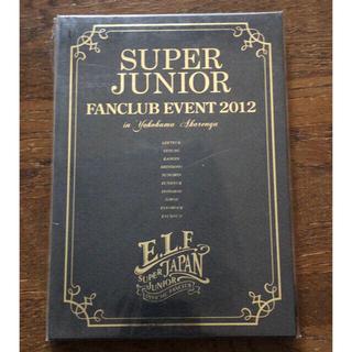 スーパージュニア(SUPER JUNIOR)のSUPER JUNIOR ファンクラブ イベント DVD+下敷き(ミュージック)