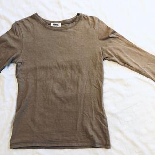 ロンハーマン(Ron Herman)のRon Hermanカットソー ベージュS 未使用(Tシャツ(長袖/七分))
