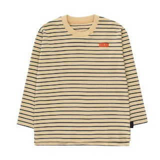 ボボチョース(bobo chose)の[sale]タイニーコットンズ tinycottons ボーダーカットソー 4y(Tシャツ/カットソー)