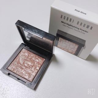 BOBBI BROWN - ボビイブラウン  ハイライト ミニサイズ ピンクグロウ