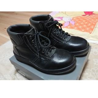 ミドリアンゼン(ミドリ安全)のミドリ安全 レザーブーツ型安全靴 23.5cm 男女共用😃✨(その他)