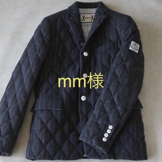 MONCLER - ★至高のレアモデル★ モンクレール  ガムブルー ストライプ テーラード ダウン