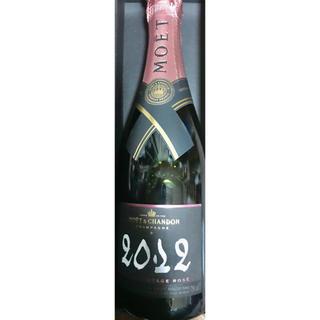 モエエシャンドン(MOËT & CHANDON)のモエ・エ・シャンドン ヴィンテージ 2012 ロゼ 2本セット 箱無し!(シャンパン/スパークリングワイン)