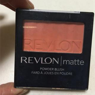 REVLON - レブロン マット パウダー ブラッシュ 06 オレンジ チーク
