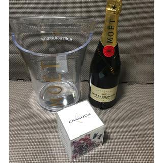 モエエシャンドン(MOËT & CHANDON)のモエ・エ・シャンドン・ブリュット750ml  非売品 セット(シャンパン/スパークリングワイン)