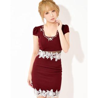 dazzy store - dazzystoreキャバドレス☆Mサイズ(WINE RED)
