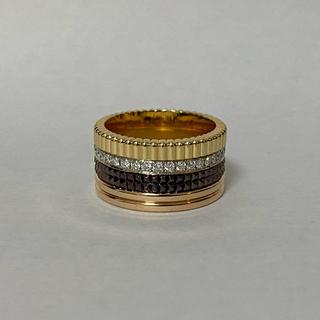 ブシュロン(BOUCHERON)のブシュロン クラシック キャトル ラージ ダイヤ #56 15.5号 美品(リング(指輪))