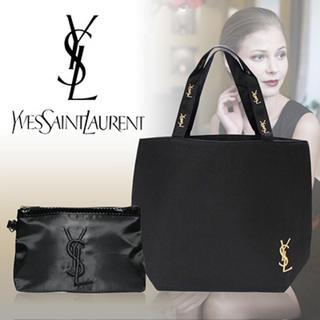 Yves Saint Laurent Beaute - 【新品!】イヴサンローラン YSL トートバッグ ポーチ ブラック ブランド