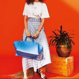 Mila Owen - 新品 ミラオーウェン サマーツイードマキシスカート