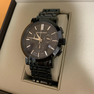 BURBERRY - BURBERRY 腕時計 クロノグラフ 箱付き