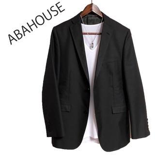 ABAHOUSE - ABAHOUSE テーラードジャケット 黒 高級感 ビジネスジャケット