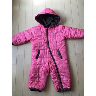 シンプル ピンクジャンプスーツ90cm