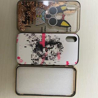 アイフォーン(iPhone)の中古 Collbornと360マグネットIphoneXケース(iPhoneケース)