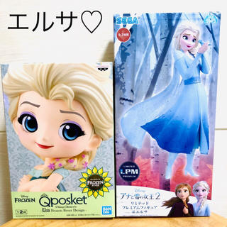 アナと雪の女王 - アナと雪の女王 フィギュア エルサ セット