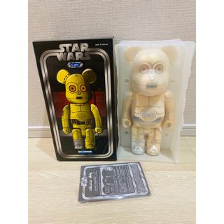 メディコムトイ(MEDICOM TOY)の未展示BE@RBRICK C-3PO 400% STARWARS STUSSY (SF/ファンタジー/ホラー)