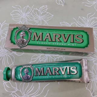 マービス(MARVIS)のMARVIS マービス CLASSIC STRONG MINT 緑 85ml(歯磨き粉)
