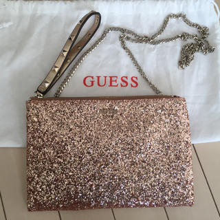 GUESS - guessグリッターチェーンバッグ