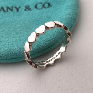 Tiffany & Co. - Tiffany パフハート リング 11号