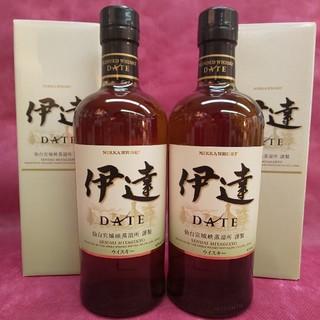 ニッカウイスキー(ニッカウヰスキー)のニッカ『伊達DATE』2本(ウイスキー)