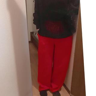 Vivienne Westwood - レア 旧赤タグ Vivienne Westwood オーブ総柄 ジャガードパンツ