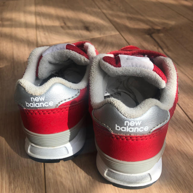 New Balance(ニューバランス)のニューバランス スニーカー 14㎝ キッズ/ベビー/マタニティのベビー靴/シューズ(~14cm)(スニーカー)の商品写真