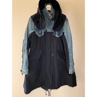 sacai - 【新品定価153360円】sacai 19aw デニムモッズコート