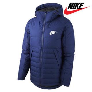 NIKE - ナイキ XLサイズ メンズ フィルダウン ジャケット 防寒着 ネイビー